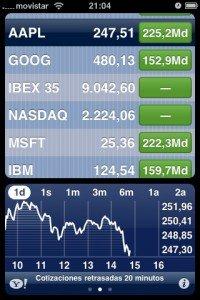 Apple supera a Microsoft en valor bursátil