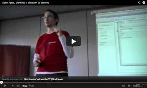 Seminario sobre Open Apps en evento Velneo 6x+V7 2011