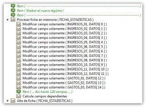 Optimizar altas con muchas fórmulas o contenidos iniciales en Velneo
