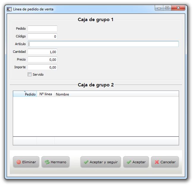 Píldora 4. Caja de grupo aplicado CSS personalizada
