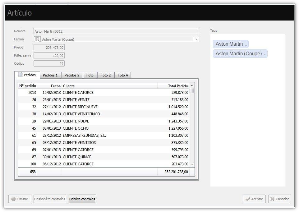 Deshabilitar controles de formulario con el API de Velneo