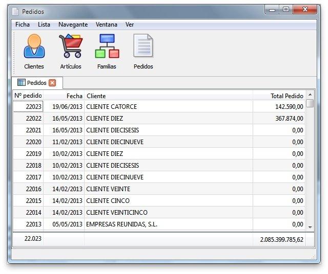 Desactivar ordenación en rejillas con CSS en Velneo V7